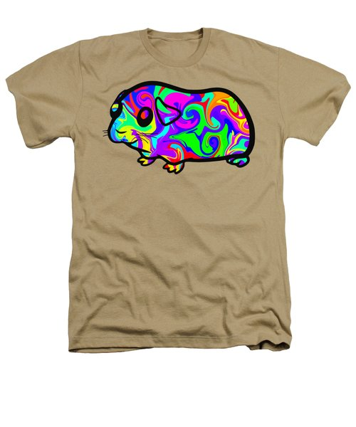 Colorful Guinea Pig Heathers T-Shirt by Chris Butler
