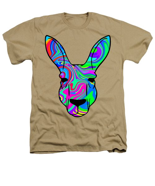 Colorful Kangaroo Heathers T-Shirt by Chris Butler