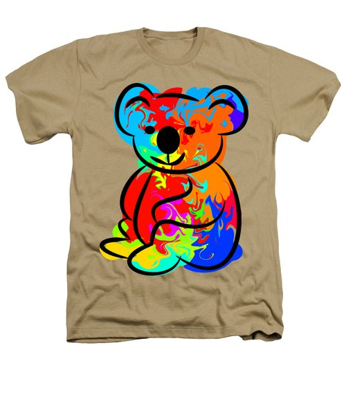 Colorful Koala Heathers T-Shirt by Chris Butler
