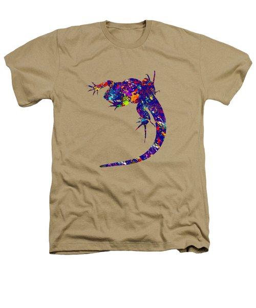 Colourful Lizard -2- Heathers T-Shirt
