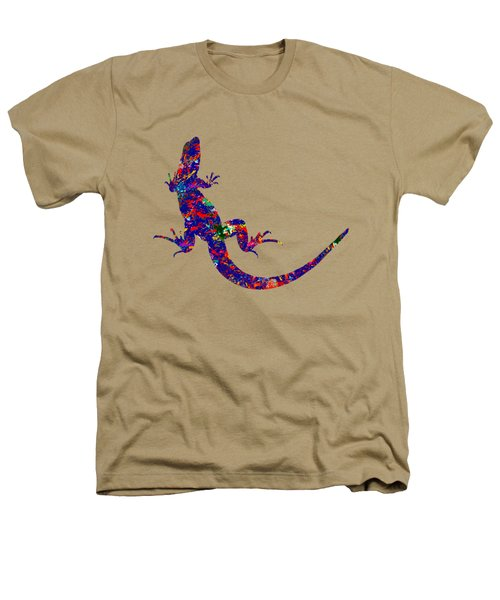 Colourful Lizard Heathers T-Shirt by Bamalam  Photography