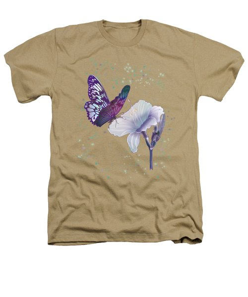 Contemporary Painting Of A Dancing Butterfly  Heathers T-Shirt by Regina Femrite