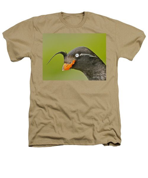 Crested Auklet Heathers T-Shirt