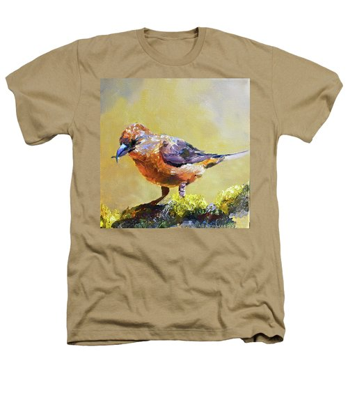 Crossbill Heathers T-Shirt by Jan Hardenburger