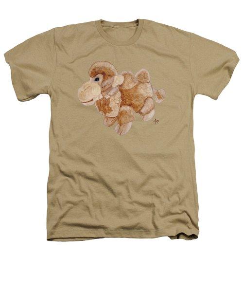 Cuddly Camel Heathers T-Shirt by Angeles M Pomata