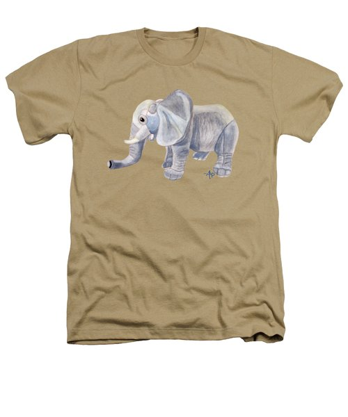 Cuddly Elephant II Heathers T-Shirt by Angeles M Pomata
