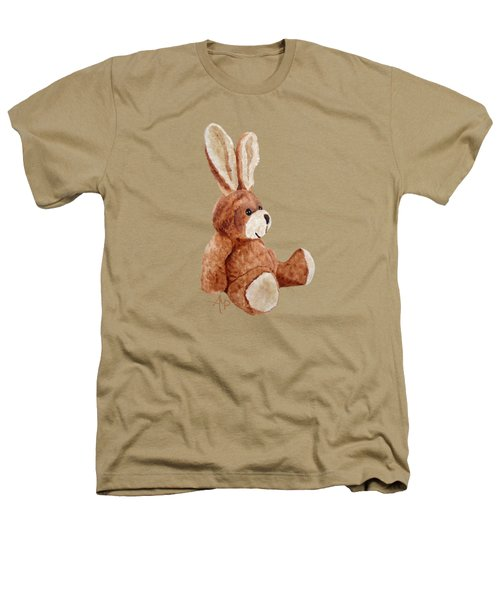 Cuddly Rabbit Heathers T-Shirt by Angeles M Pomata