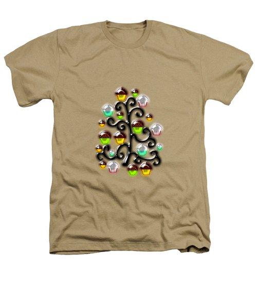 Cupcake Glass Tree Heathers T-Shirt
