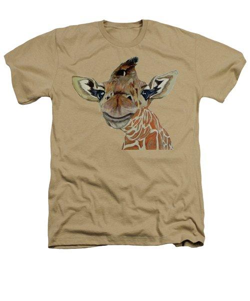 Cute Giraffe Baby Heathers T-Shirt