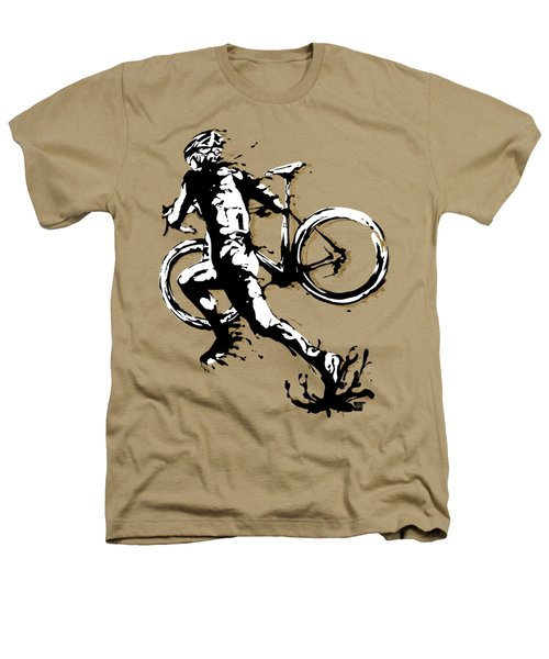 Cyclocross Poster1 Heathers T-Shirt