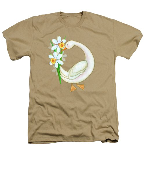 D Is For Duck And Daffodils Heathers T-Shirt