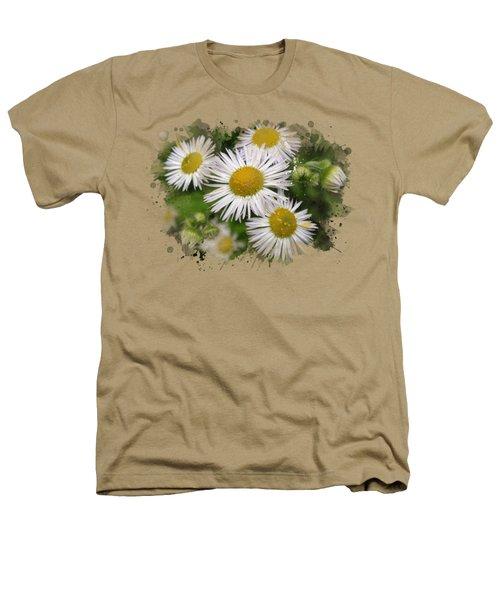 Daisy Watercolor Art Heathers T-Shirt by Christina Rollo