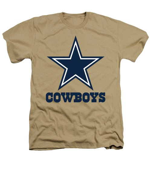 Dallas Cowboys On An Abraded Steel Texture Heathers T-Shirt