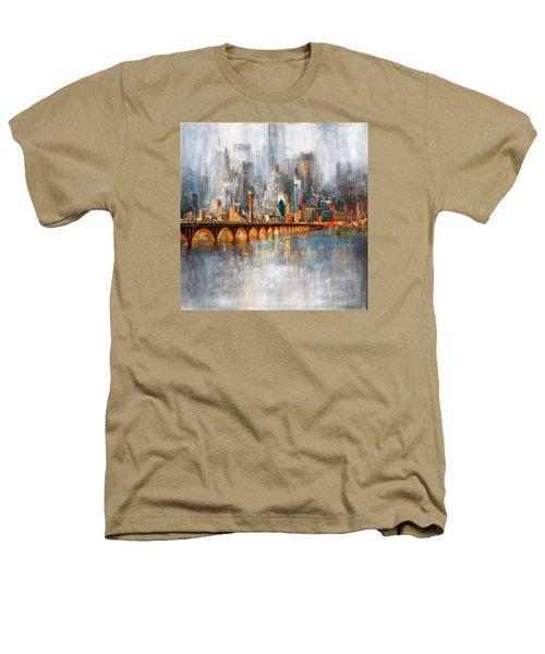 Dallas Skyline 217 1 Heathers T-Shirt by Mawra Tahreem