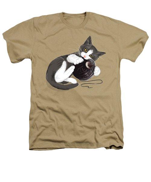 Death Star Kitty Heathers T-Shirt by Olga Shvartsur