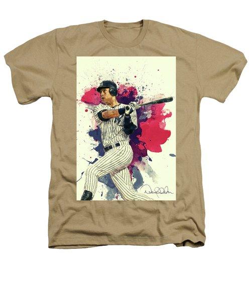 Derek Jeter Heathers T-Shirt by Taylan Apukovska