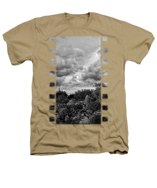Desert In Clouds V15 Heathers T-Shirt by Mark Myhaver