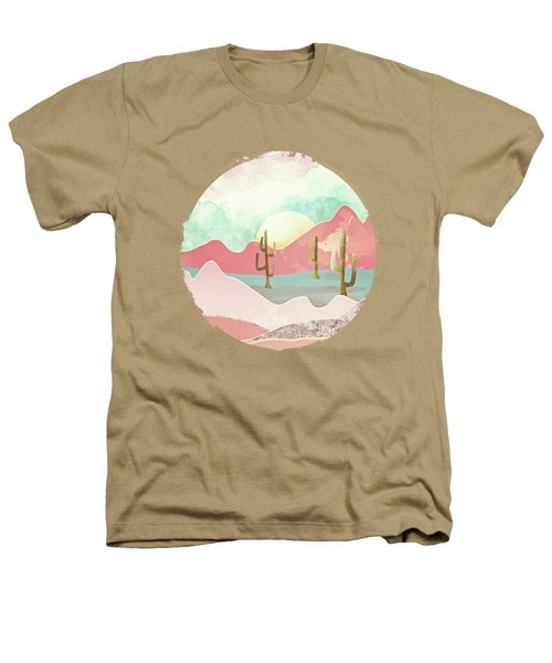 Desert Mountains Heathers T-Shirt by Spacefrog Designs