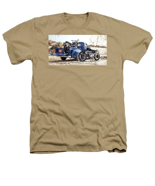 Desert Racing Heathers T-Shirt by Mark Rogan