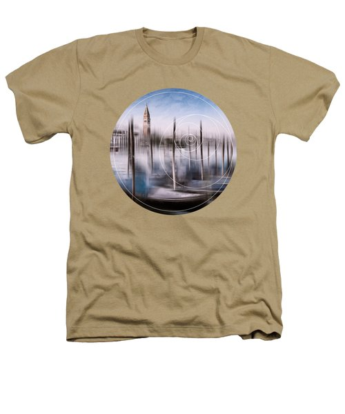 Digital-art Venice Grand Canal And St Mark's Campanile Heathers T-Shirt by Melanie Viola