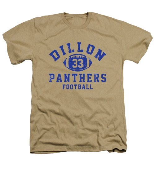 Dillon Panthers Football 2 Heathers T-Shirt