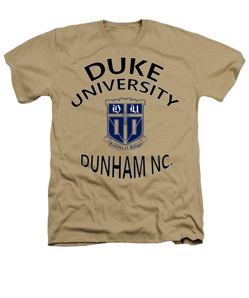 Duke University Dunham N C  Heathers T-Shirt by Movie Poster Prints