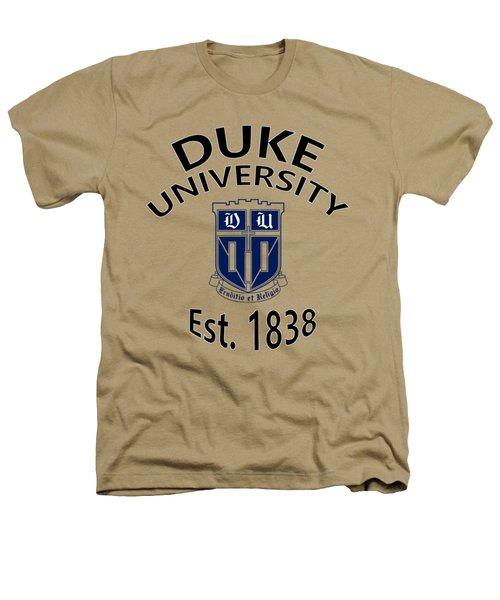 Duke University Est 1838 Heathers T-Shirt by Movie Poster Prints