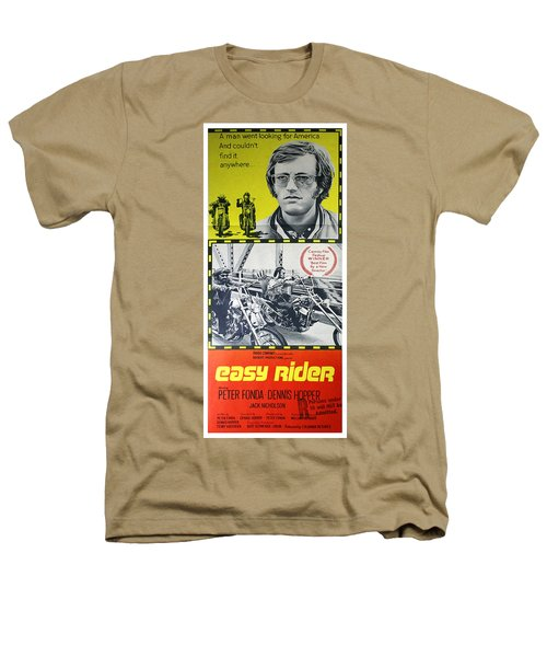 Easy Rider Movie Lobby Poster  1969 Heathers T-Shirt