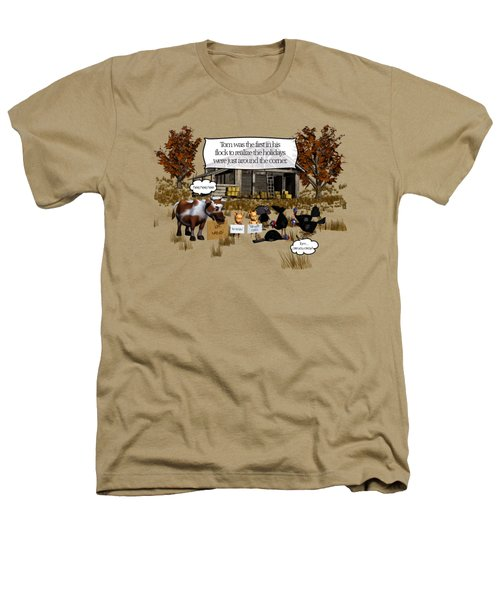 Eat More Turkey Heathers T-Shirt