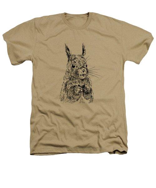 Eating Squirrel Heathers T-Shirt by Masha Batkova