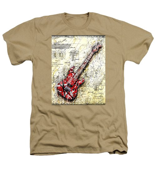 Eddie's Guitar 3 Heathers T-Shirt by Gary Bodnar