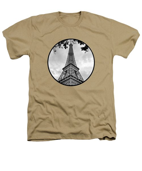 Eiffel Tower - Transparent Heathers T-Shirt by Nikolyn McDonald