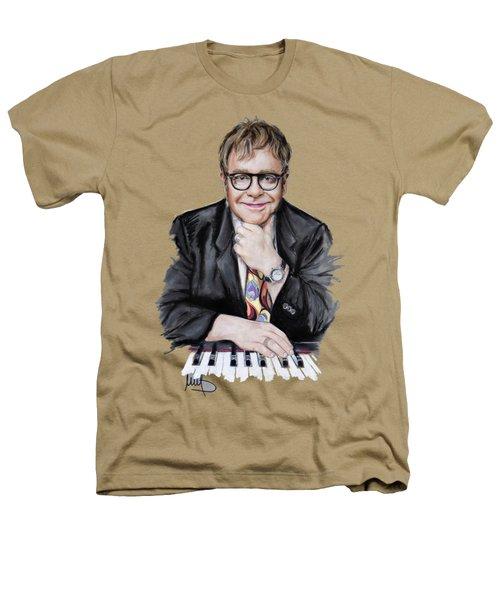 Elton John Heathers T-Shirt by Melanie D