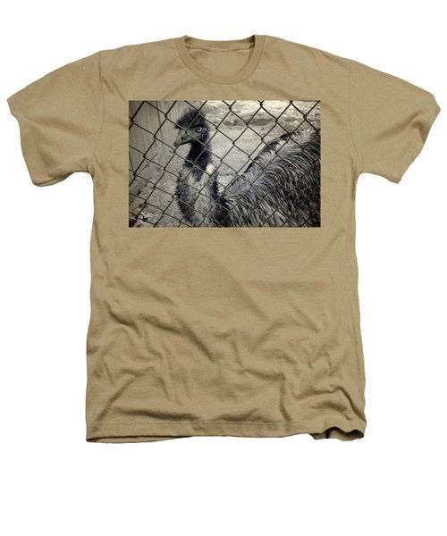 Emu At The Zoo Heathers T-Shirt