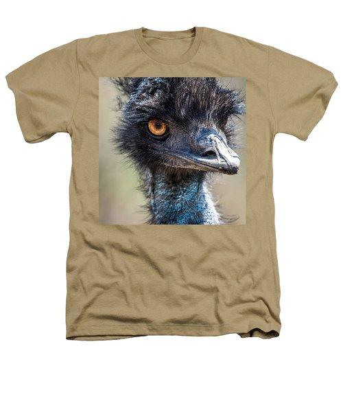 Emu Eyes Heathers T-Shirt by Paul Freidlund