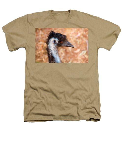 Emu Profile Heathers T-Shirt by Mike  Dawson