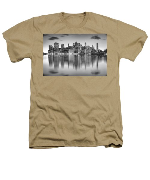 Enchanted City Heathers T-Shirt by Az Jackson