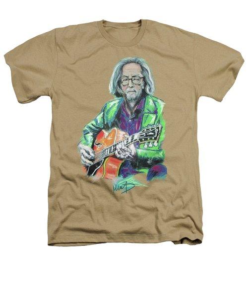 Eric Clapton Heathers T-Shirt by Melanie D