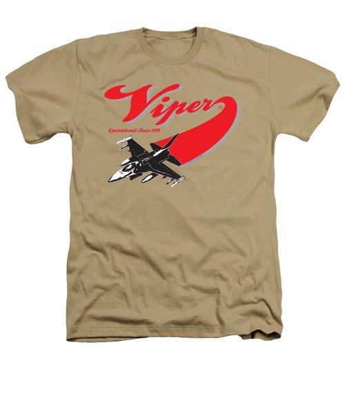 F-16 Swoop Heathers T-Shirt by Clear II land Net
