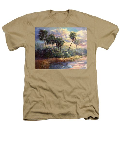 Fairchild Gardens Heathers T-Shirt by Laurie Hein