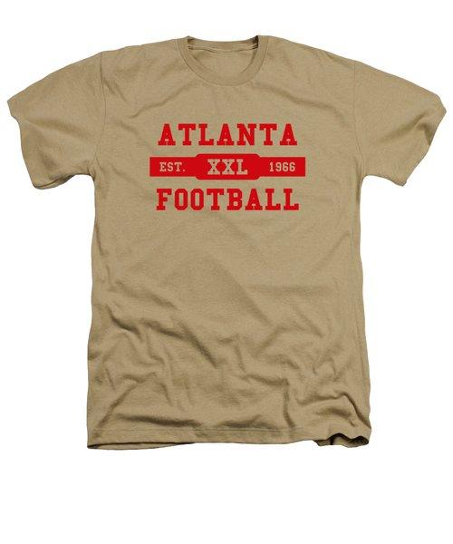 Falcons Retro Shirt Heathers T-Shirt by Joe Hamilton