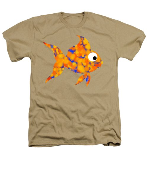 Fancy Goldfish Heathers T-Shirt by Christina Rollo