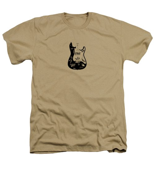 Fender Stratocaster 57 Heathers T-Shirt by Mark Rogan