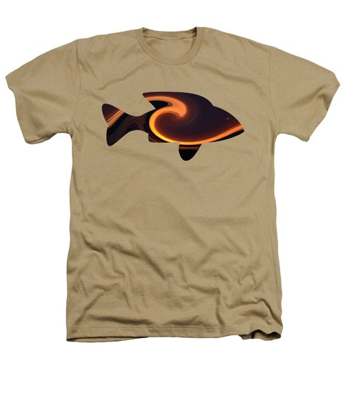 Fiery Wave Fish Heathers T-Shirt