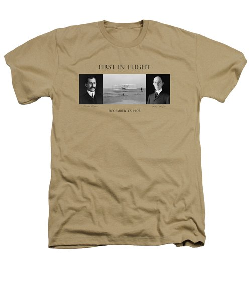 First In Flight - The Wright Brothers Heathers T-Shirt