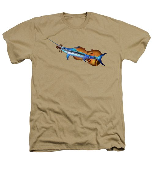 Fisholin V1 - Instrumental Fish Heathers T-Shirt by Cersatti
