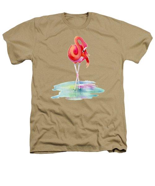 Flamingo Primp Heathers T-Shirt