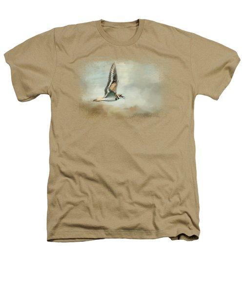 Flight Of The Killdeer Heathers T-Shirt by Jai Johnson