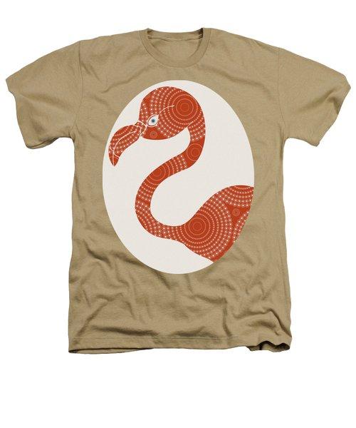 Floral Flamingo Heathers T-Shirt