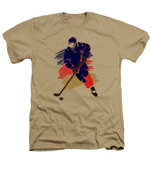 Florida Panthers Player Shirt Heathers T-Shirt by Joe Hamilton